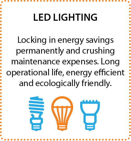 lock in energy savings permanently and crush maintenance expenses. Long operation life, energy efficient and ecologically friendly