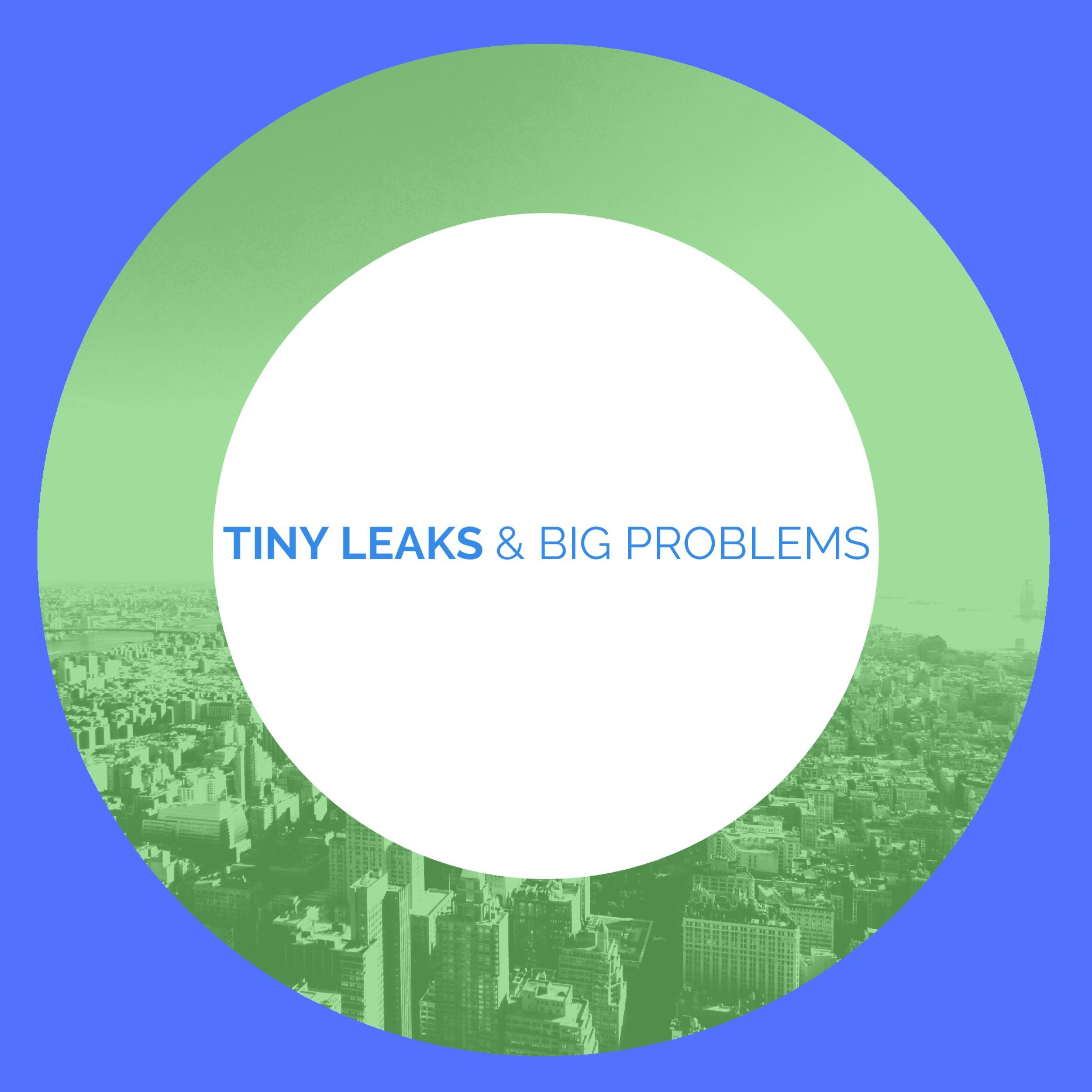 Tiny Leaks. Big Problems. Small Solutions. Huge Savings